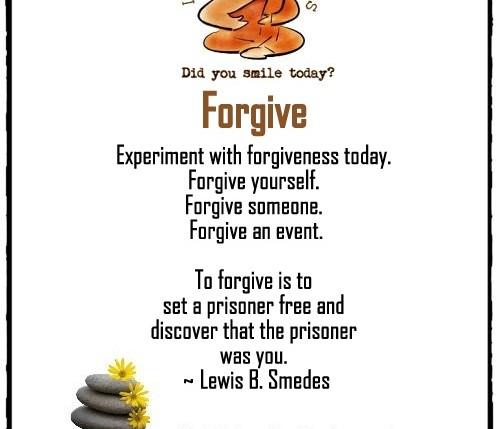 forgive lifehacksforhappiness