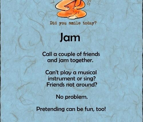 jam lifehacksforhappiness