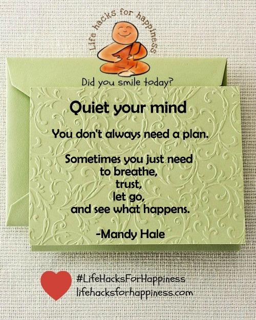 quiet your mind vidya sury