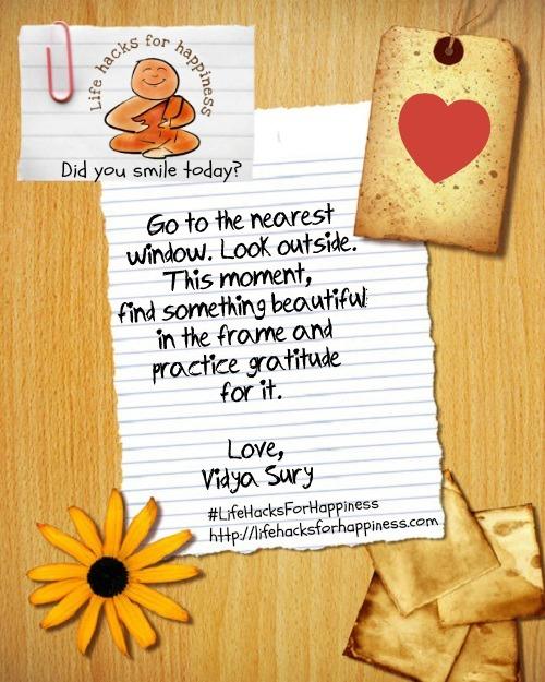 Practice Gratitude Vidya Sury