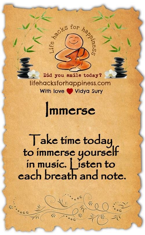Immerse Vidya Sury