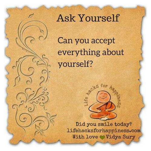 Ask Yourself #lifehacksforhappiness